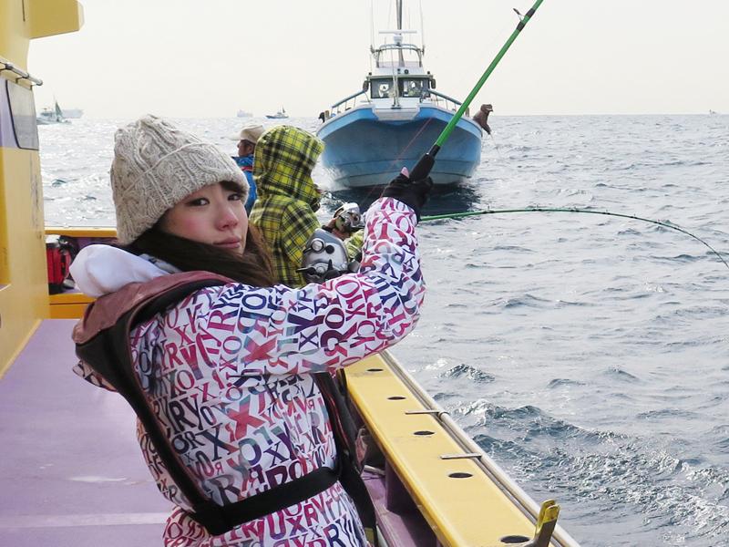 釣りガール