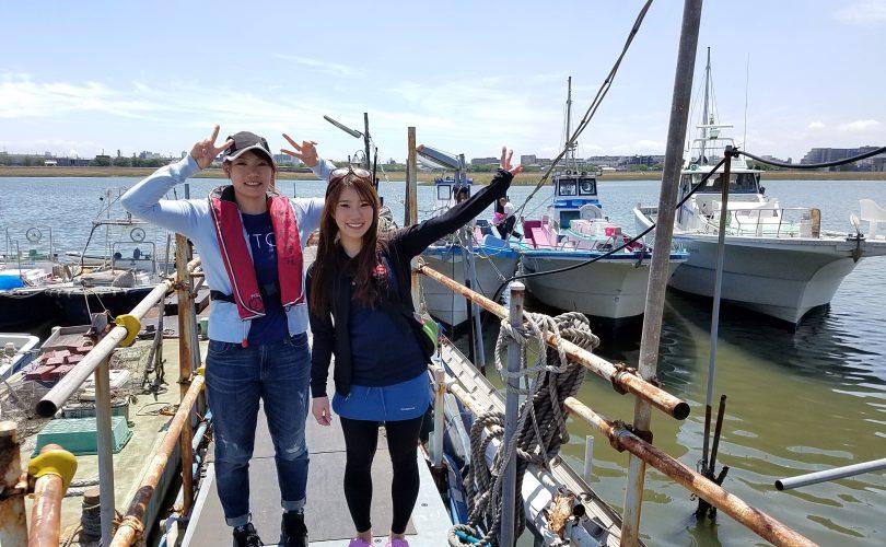 羽田沖でメバル釣りデビュー!