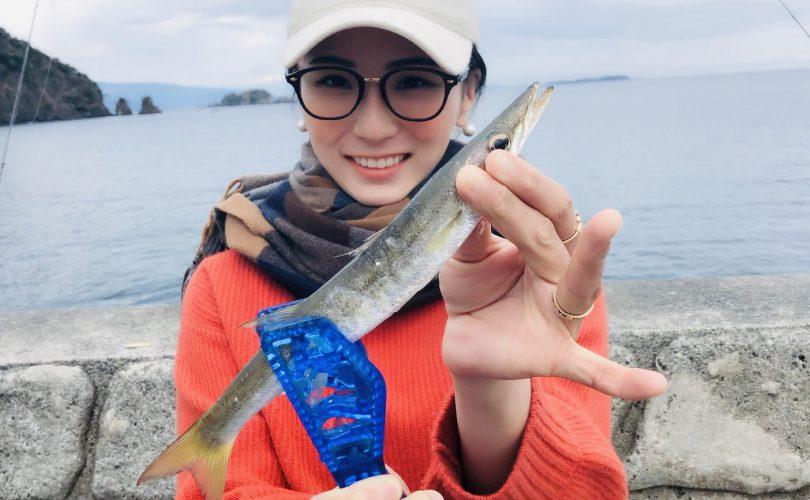 バースデイフィッシングは、川奈のいるか浜堤防でカマス釣り!