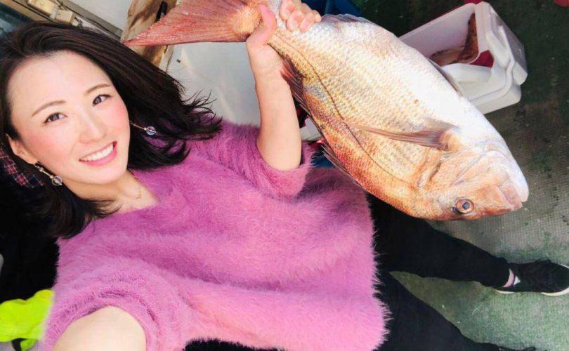 釣りガールに新メンバー「ミホ」さんが加入しました!