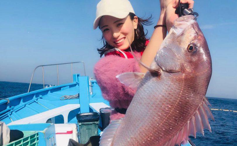 館山で4.9キロのマダイを釣っちゃいました!