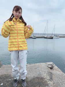 釣りガールファッション