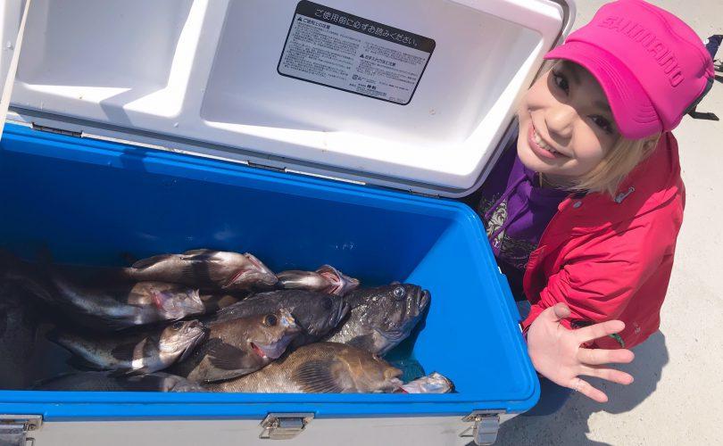 2週間ぶりの釣行!沖メバル、アイナメ、クロソイの3種をコンプリート!