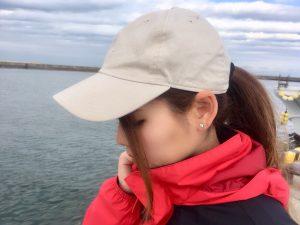 釣りガール_キャップ