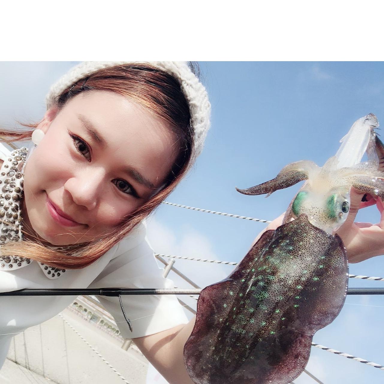 釣りガール_バンビ