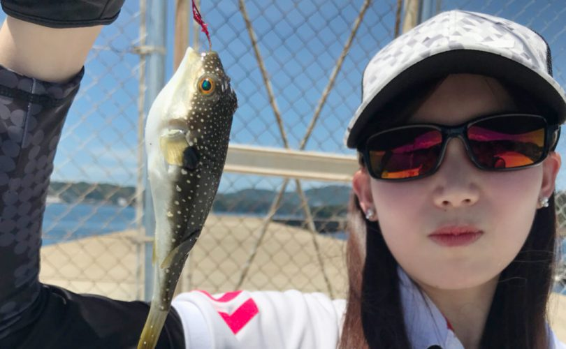 釣りガールの2019春ファッション!コーデ・服装のポイント(まほ編)