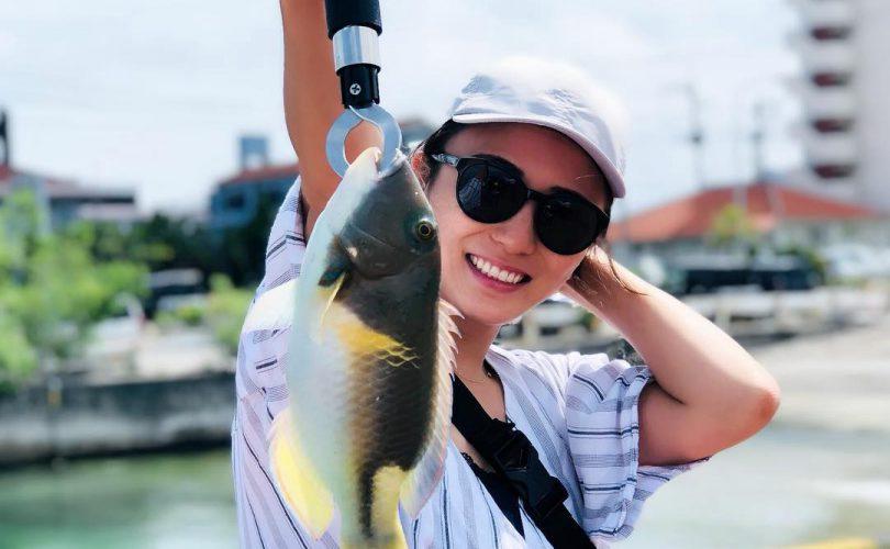 石垣島の港で釣行♪色々な魚が釣れました~