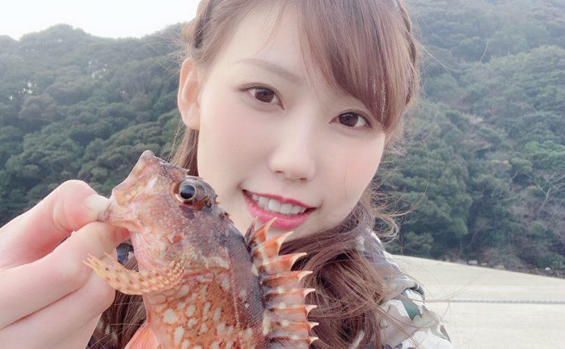 地元長崎で、おかっぱり☆メバル、アラカブ、ベラが釣れました♪