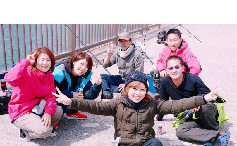 神戸のインスタ友達と釣りに行ってきました♪