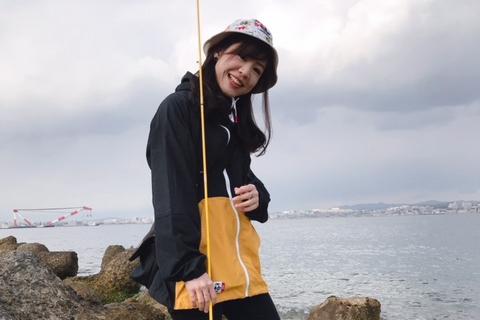釣りガールの2019春ファッション!コーデ・服装のポイント(サキやん編)