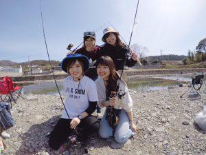 釣りガール_集合写真