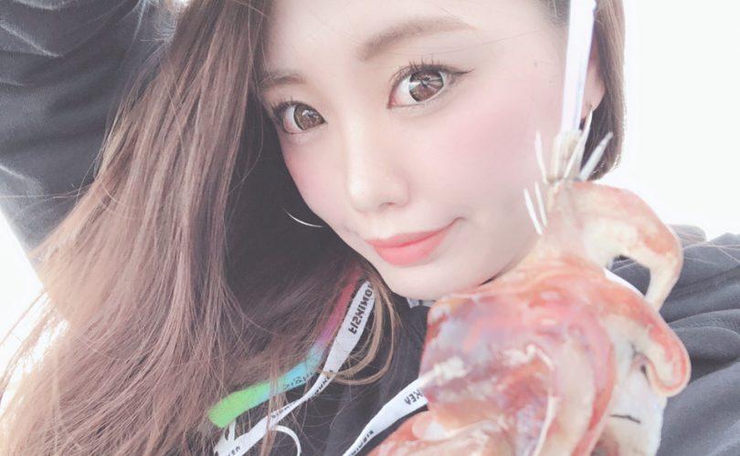 千葉でイカ釣り🦑可愛いコウイカさんに出会いました💗
