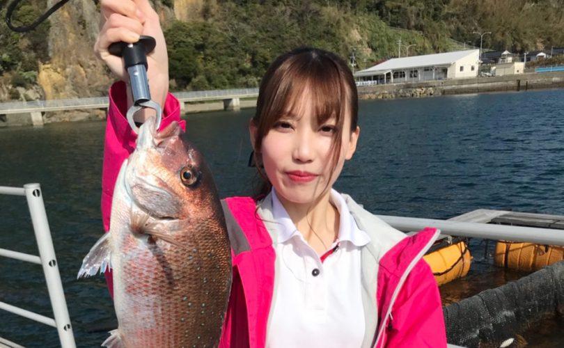 【釣り企画】エリカさんと釣り堀うみんぐ大島へ♪真鯛とアカラブをGETしました