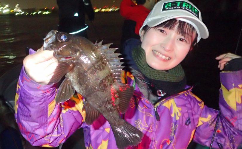 1年ぶりのメバル釣り♪仕事終わりに羽田沖で短時間勝負!