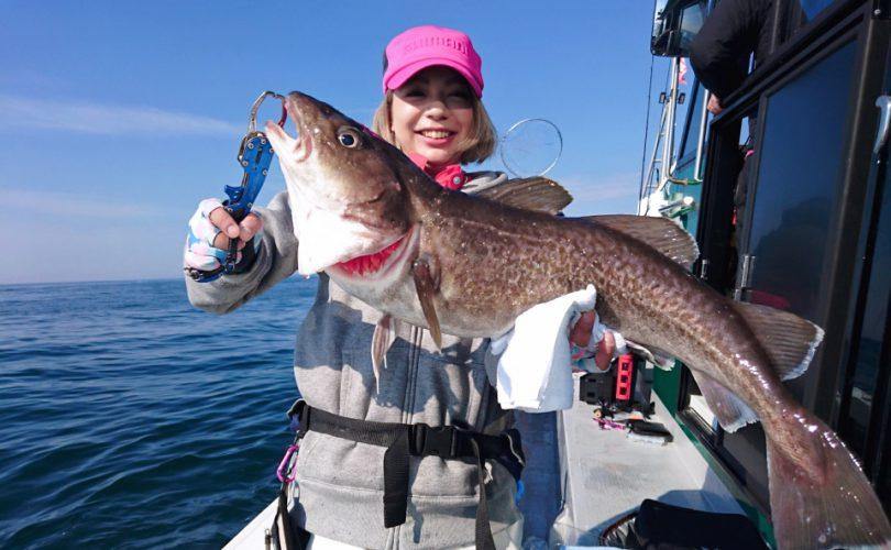 釣り2days2日目♪体の悲鳴と戦いながら、真鱈とファイト!