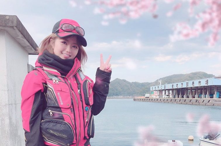 釣りガールの2019春ファッション!コーデ・服装のポイント(のんちゃん編)
