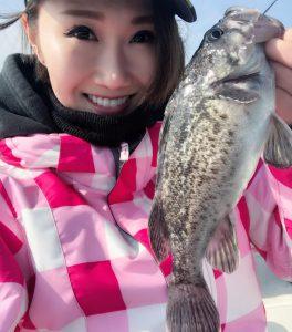 釣りガール_たにけい