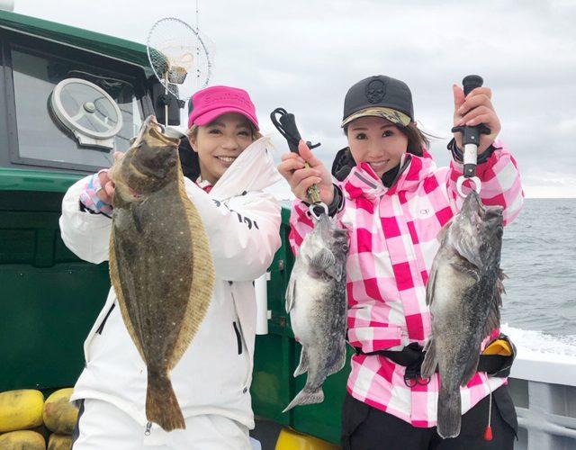 【釣り企画】ついに実現!みくみくちゃんと活イワシの五目釣りに行ってきました♪