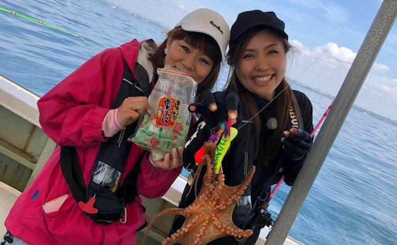 ペルビー貴子さんと明石でタコ釣り!
