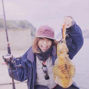 釣りガール_かめ