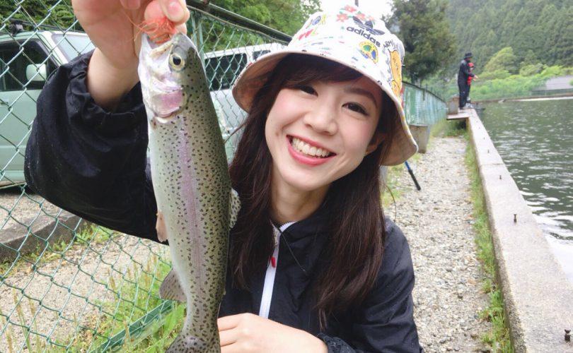 【釣り企画】釣りガール関西メンバー3人で管釣り??
