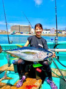 釣りガール_はづき