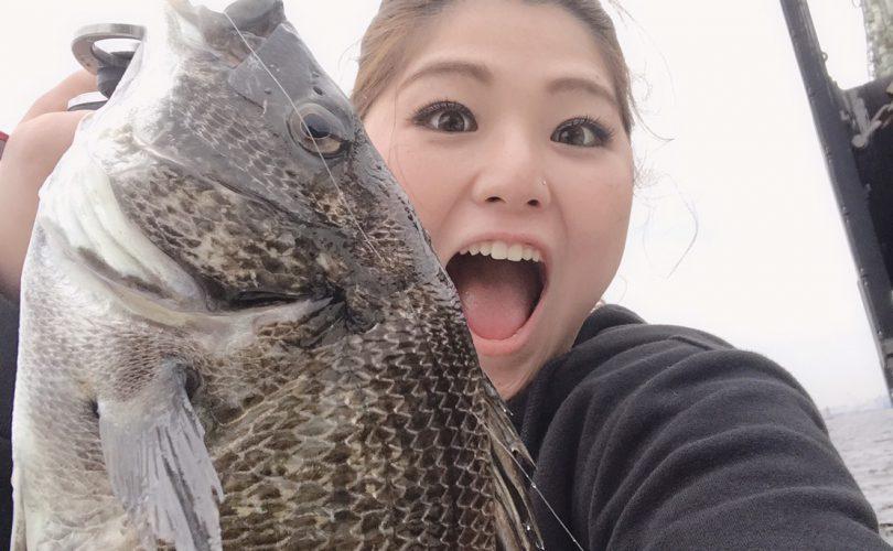夏の楽しみ❤大好きな黒鯛釣り♪