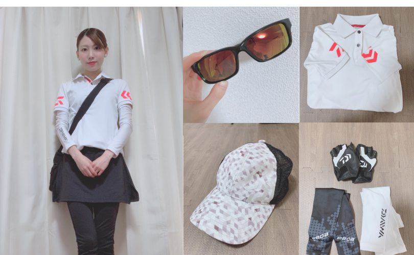 釣りガールの2019初夏ファッション!コーデ・服装のポイント(まほ編)