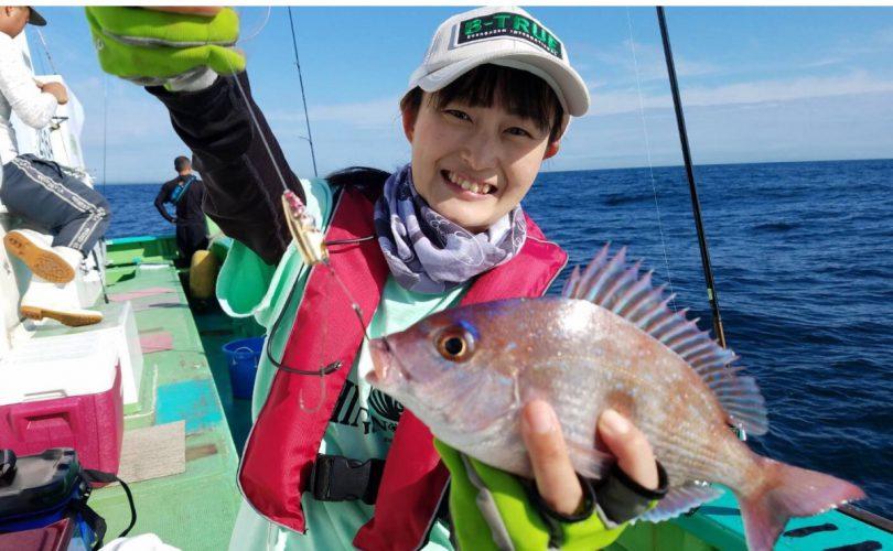 今年の目標!真鯛釣り♪今回はテンヤ釣りで挑戦