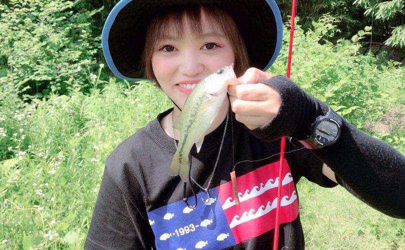 地元で朝から野池巡り!初めて釣れた魚も✨