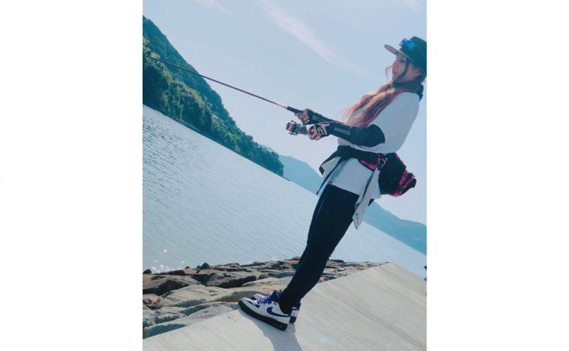 釣りガールの2019初夏ファッション!コーデ・服装のポイント(とんちゃん編)
