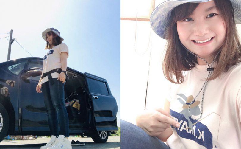 釣りガールの2019初夏ファッション!コーデ・服装のポイント(ゆっち編)