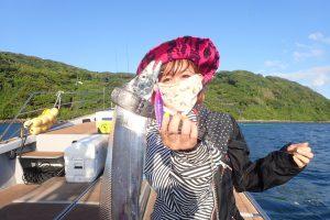 釣りガール_タチウオ