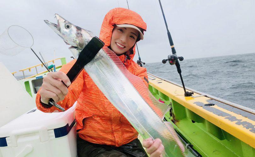 初ジギングで、タチウオ釣り✨大爆釣でした?