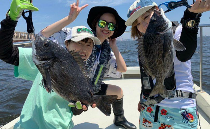 【釣りイベント】関東釣りガールメンバーで黒鯛釣りへ行ってきました!