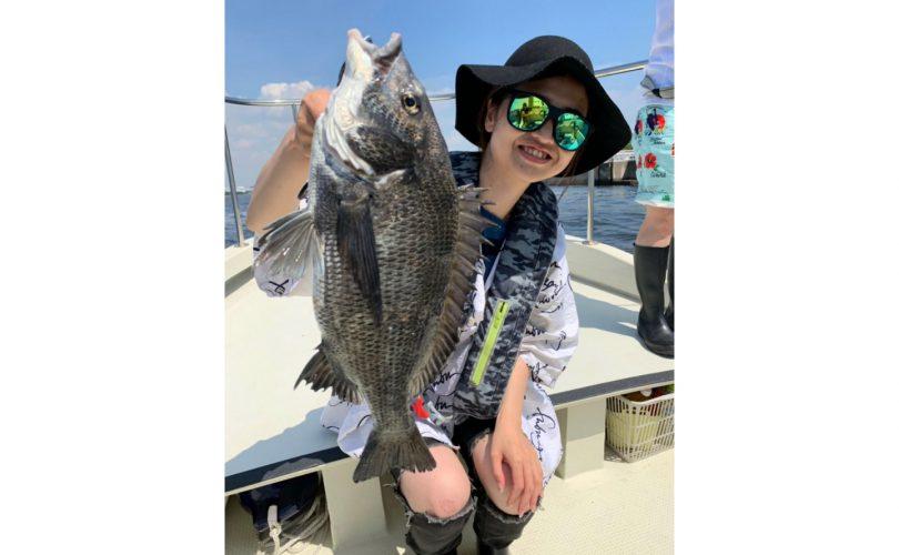 【釣りイベント】釣りガールだけで、黒鯛(チヌ)を釣ってみた!!