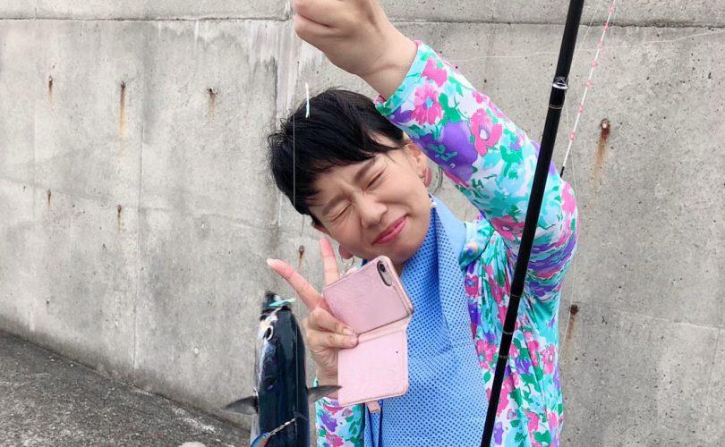 たまにはショア釣りも❤️和歌山の沖堤防へ行ってきました?