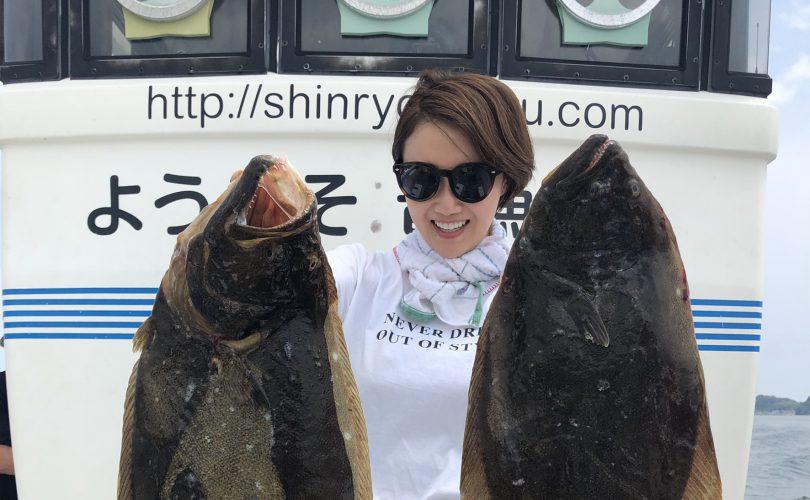 2連休は大好きなヒラメ釣り😆💓