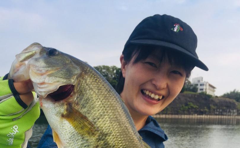 亀山湖で久しぶりのバス釣り!