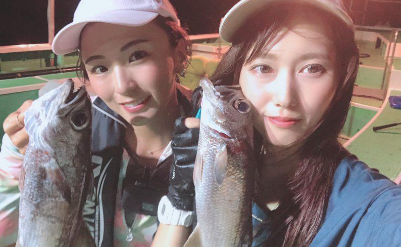 【釣りイベント】Ayaちゃんの半夜クロムツ船✨
