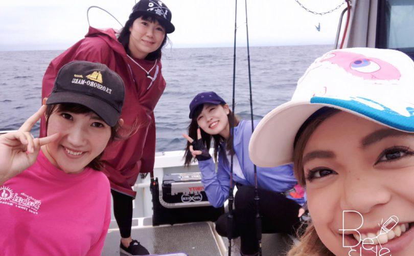 東北釣りガールと、愉快な釣り仲間たち?✨