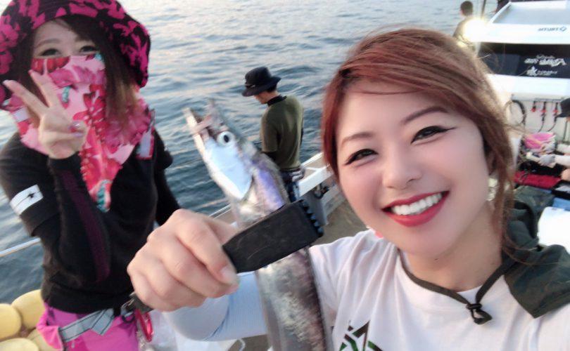 【釣りイベント】えりかちゃんに会いに福岡へ!初タチウオジギング!