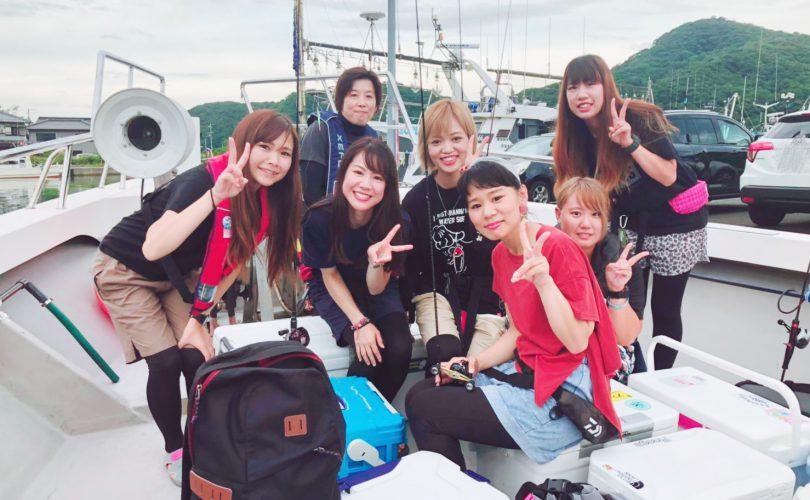 【釣りイベント】待ちに待った🌸イカメタル女子会in福井県💓