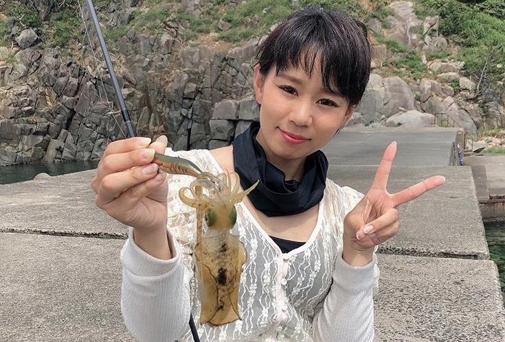 音海でアオリイカ&キス釣り?