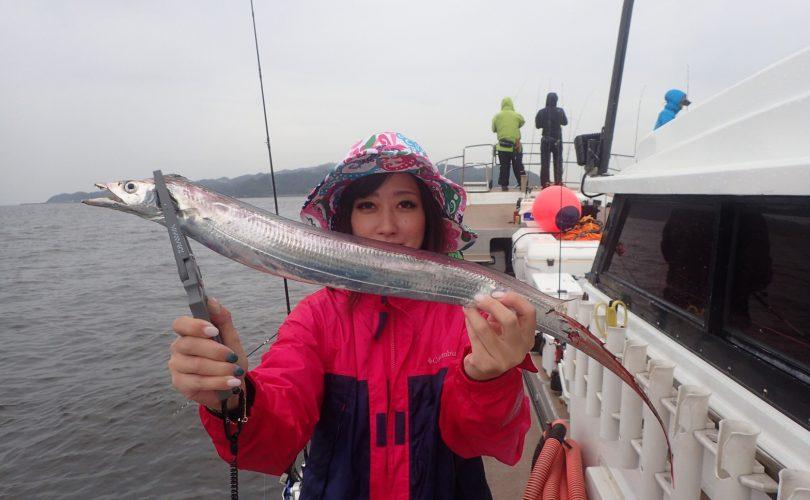 博多湾のラストタチウオ釣行!