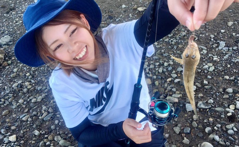 紀ノ川でハゼ釣り?ルアー釣りとエサ釣り両方楽しみました♪
