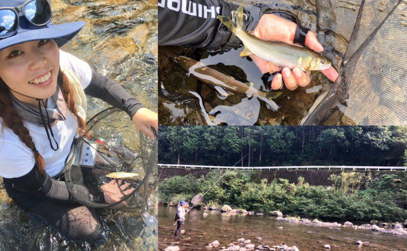 【釣り企画】和歌山県の有田川でアユの友釣りに初挑戦🎣