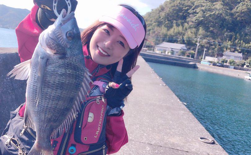 浜市さんの餌で、チヌ釣り釣行🐟💗