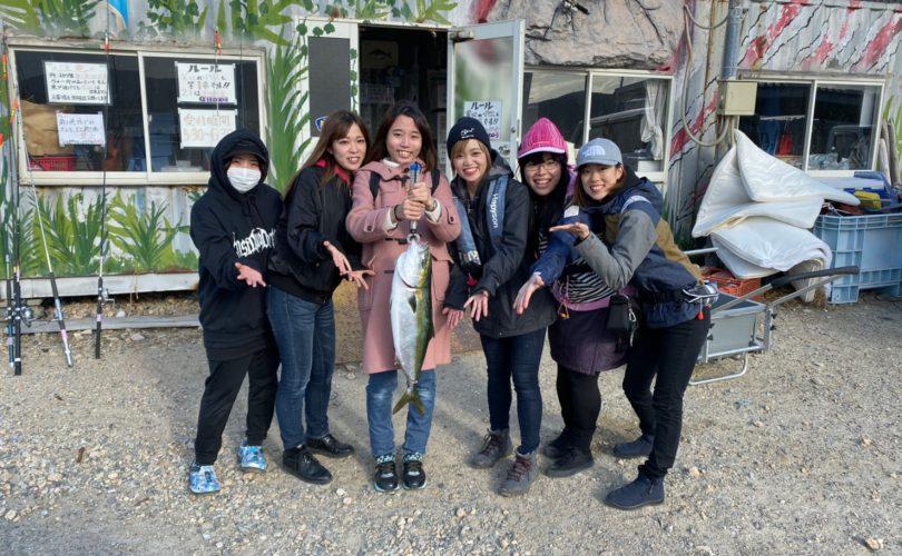 【釣りイベント】女性6人で海上釣り堀に行ってきました!