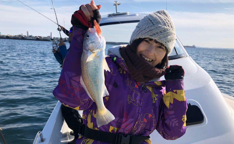 美味しく食べられる魚を求め、釣り仲間と東京湾へ